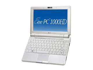 ASUS Eee PC 1000HD WH パールホワイト