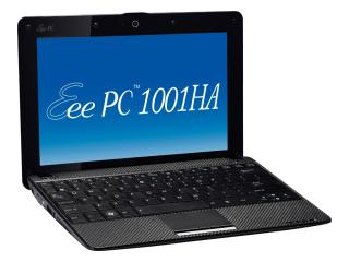 ASUS Eee PC Seashell Eee PC 1001HA with Office(2年間ライセンス版) BK ブラック