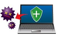 ウイルスソフトを最新にする