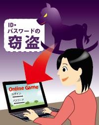 トロイの木馬とは、面白いゲームソフトや便利なソフトに見せかけ、ユーザーにダウンロードするように仕向けます。