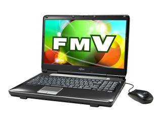 FUJITSU FMVA555ABのメモリを交換しました。